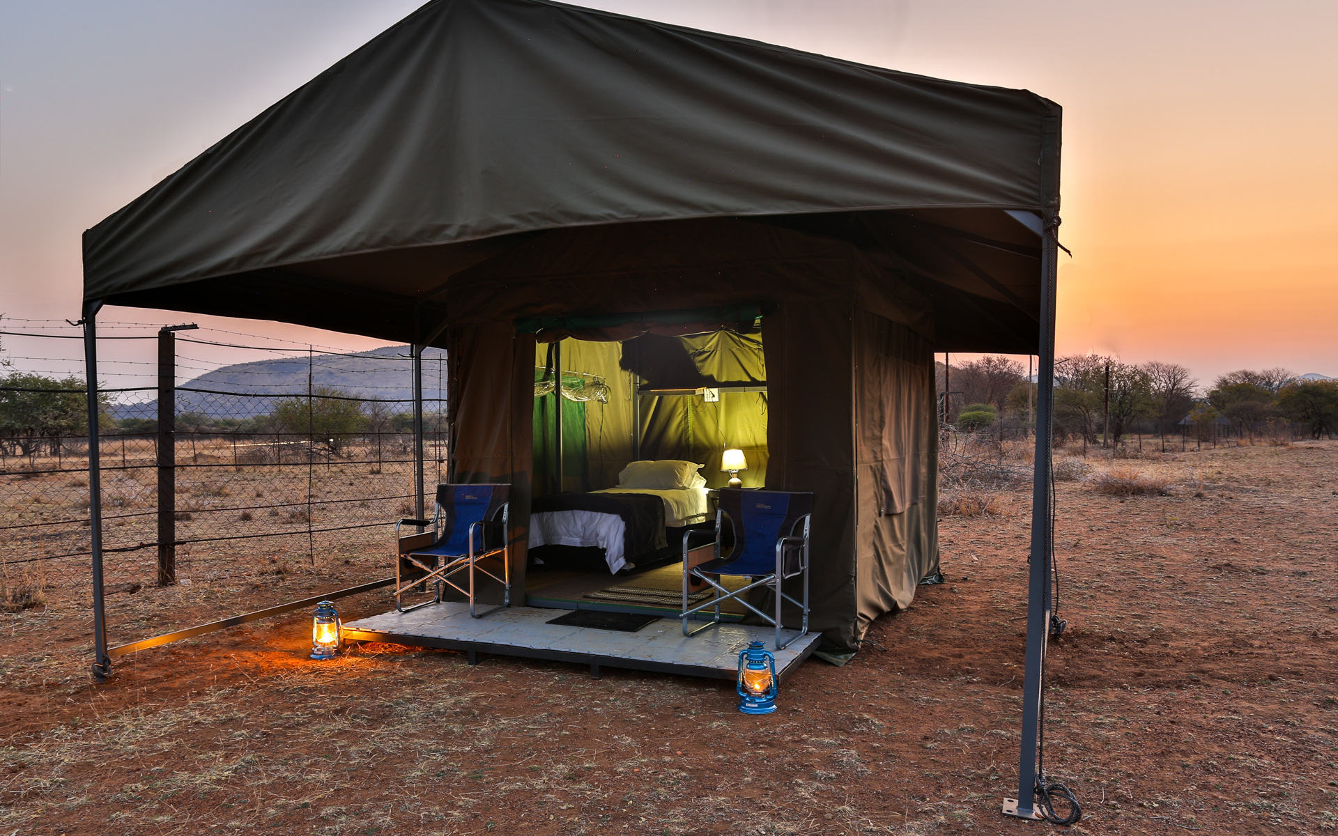tented safari